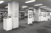 Vista parcial de la Exposición del Centro de Documentación de la Música Española Contemporánea, 1983