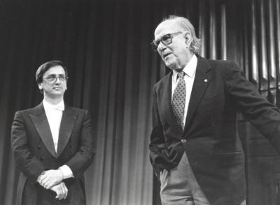 Alejandro Zabala y Xavier Montsalvatge. Homenaje a Xavier Montsalvatge en su 80 Aniversario