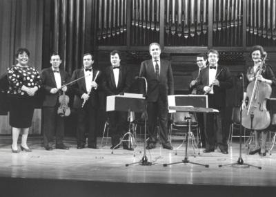 Tomás Marco, Grupo Koan y José Ramón Encinar. Homenaje a Tomás Marco