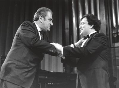 Tomás Marco y José Ramón Encinar. Homenaje a Tomás Marco