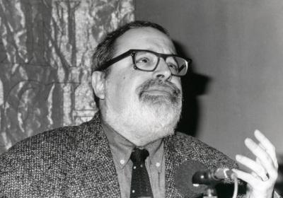 Fernando Savater. Con motivo de la presentación del Catálogo de Fotografías