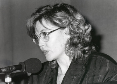 Paloma Pedrero. Mesa redonda con motivo de la presentación del Catálogo de Fotografías