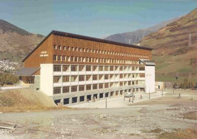 Inauguración del Colegio Juan March. Obra social