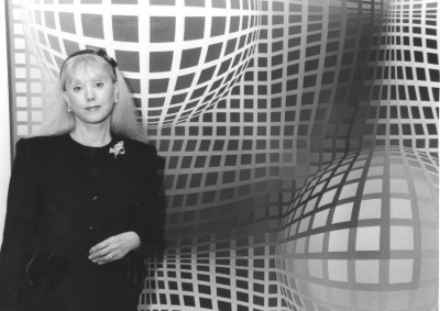 Michèle-Catherine Vasarely. Exposición Vasarely