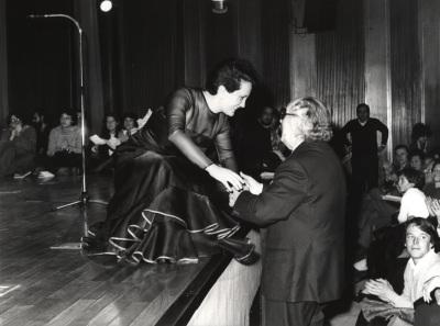 Ana Higueras y Joaquín Rodrigo. Homenaje a Joaquín Rodrigo