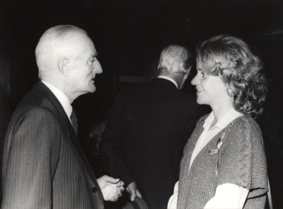Diego Angulo y Soledad Becerril. Presentación del libro sobre Murillo