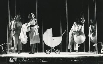 Representación teatral de Gabinete Libermann por Els Joglars. Cultural Albacete