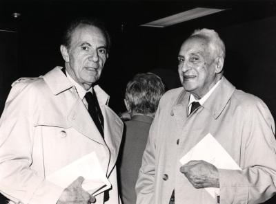 François Jacob y Severo Ochoa. Homenaje a Antonio García Bellido