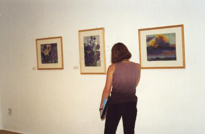 Vista parcial de la exposición Nolde, Visiones Acuarelas. Colección Fundación Nolde-Seebüll