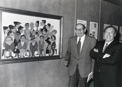Miguel Delibes y Jordi Solé Tura. Encuentro con Miguel Delibes