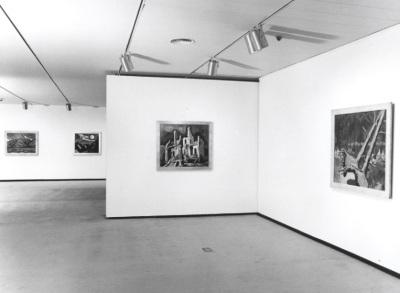 Vista parcial de la exposición Schmidt-Rottluff Colección Brücke-Museum Berlin