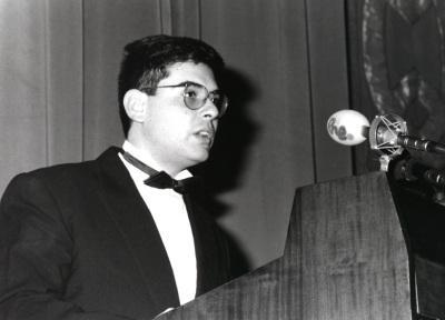 Enric Riu. Acto de entrega del Premio y Beca Montaigne/94
