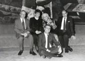 John W. Kronik, Enma Martinell, Carmen Martín Gaite, José Antonio Marina y Francisco Bobillo. Encuentros con Carmen Martín Gaite