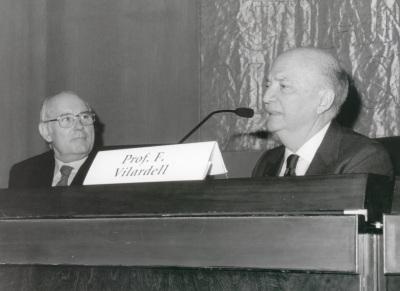 José Manuel José Manuel Romay Beccaría y Frank Vilardell. Homenaje al Dr. Frank Vilardell