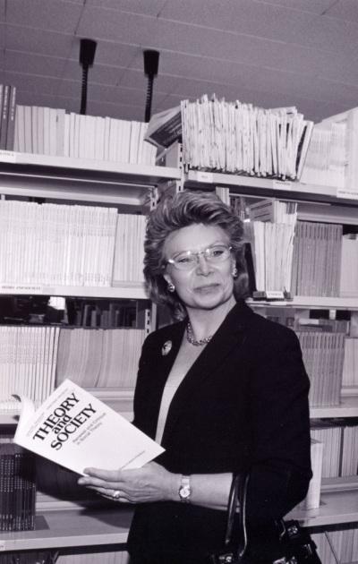 Viviane Reding. Visita cultural a la Fundación Juan March