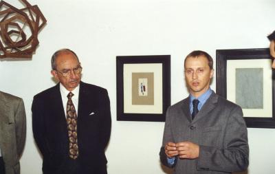 José Luis Yuste Grijalba y Silvan Faessler. Exposición Ródchenko: Geometrías