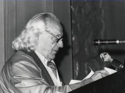 Rafael Alberti. Exposición Robert Motherwell