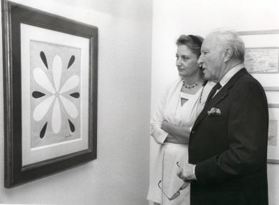 Marie Thérèse Pulvenis de Séligny y Claude Duthuit. Exposición Matisse: Espíritu y sentido Obra sobre papel