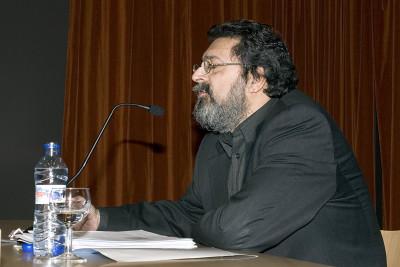Francisco Caja. Conferencia inaugural de la Exposición Rostros y máscaras Fotografías de la Colección Ordóñez-Falcón