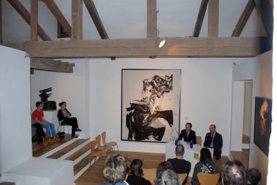 Manuel Fontán del Junco y Thomas Buchsteiner. Exposición Andreas Feininger (1906-1999)