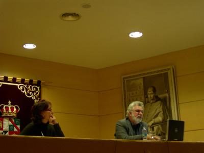 Miguel Copón en el curso Los territorios del dibujo