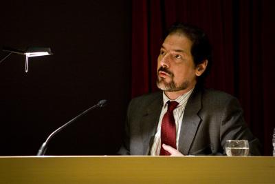Javier Arnaldo en el curso El movimiento: de la representación a la creación