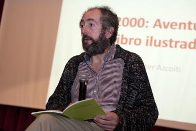 Vicente Ferrer en el curso La ilustración infantil ¿arte sólo para niños?.