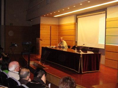 Fernando Castro en el curso Arte Pop y Cultura de Masas