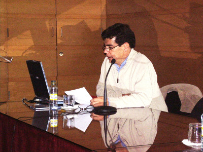 Agustín Martín Francés en el curso Diseño y Arte Pop. Nuevas Culturas de Masas