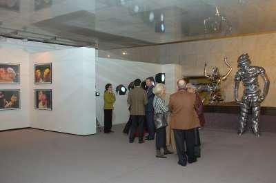 Vista parcial. Exposición Contemporanea Kunstmuseum Wolfsburg