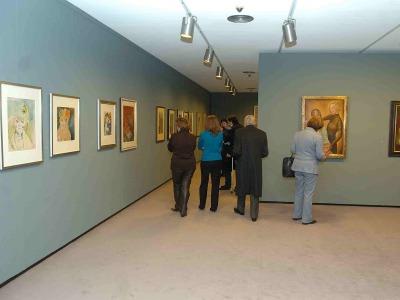 Vista parcial. Exposición Otto Dix
