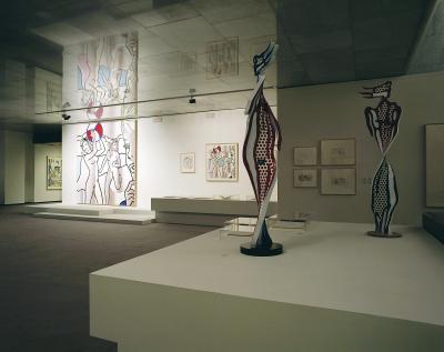Vista parcial. Exposición Roy Lichtenstein: De principio a fin