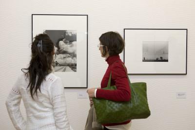Vista parcial. Exposición Andreas Feininger (1906-1999)