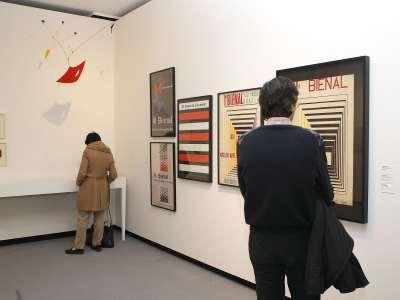 Vista parcial. Exposición América fría. La abstracción geométrica en Latinoamérica (1934-1973)