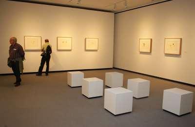 """Vista parcial. Exposición Pablo Picasso y """"La obra maestra desconocida"""" de Honoré de Balzac"""