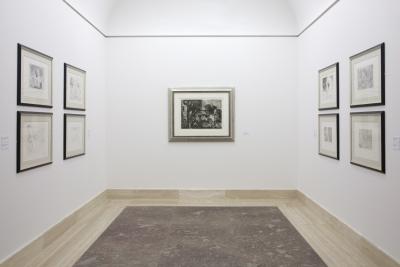 Vista parcial. Exposición La Minotauromachie (1935). Picasso en su laberinto
