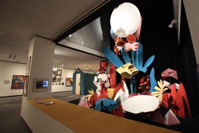 Vista parcial. Exposición Depero Futurista (1913-1950)