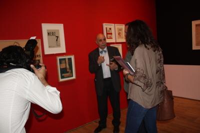 Javier Maderuelo. Exposición Kurt Schwitters. Vanguardia y Publicidad