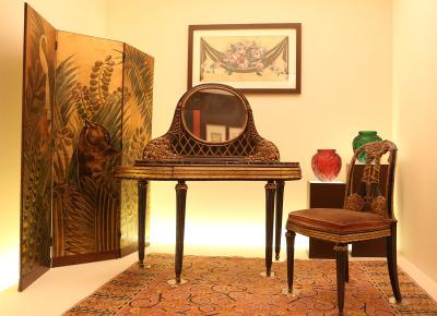 Vista parcial. Exposición El gusto moderno Art déco en París, 1910-1935
