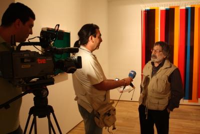 Carlos Cruz-Díez. Exposición Carlos Cruz-Díez: El color sucede