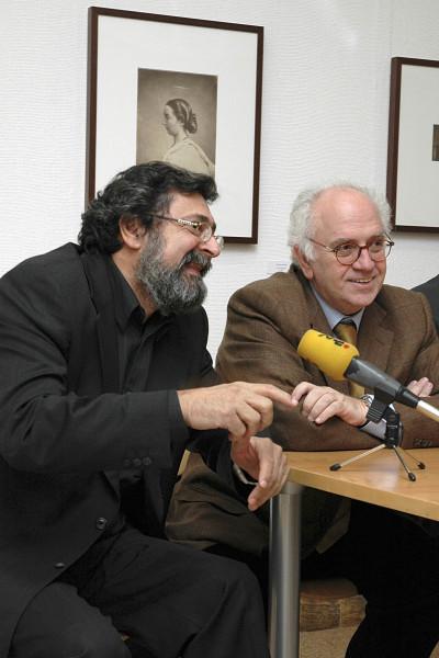 Francisco Caja y Enrique Ordóñez. Exposición Rostros y máscaras Fotografías de la Colección Ordóñez-Falcón