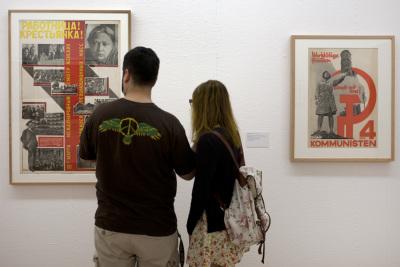 Vista parcial. Exposición Fotomontaje de entreguerras (1918–1939)