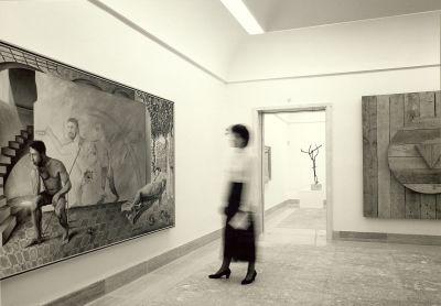 Vista de salas del Museu d'Art Espanyol Contemporani (Palma)