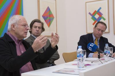 Jakob Bill, Javier Gomá Lanzón y Manuel Fontán del Junco. Exposición max bill: obras de arte multiplicadas como originales (1938-1994)