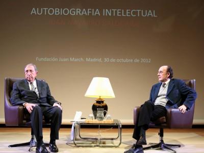 Juan Navarro Baldeweg y Francisco Calvo Serraller.
