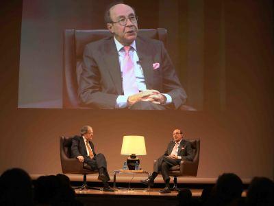 José Carlos Mainer y Francisco Rico. En diálogo con José