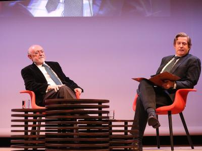Carlos García Gual y Javier Gomá Lanzón. En diálogo con Javier Gomá Lanzón