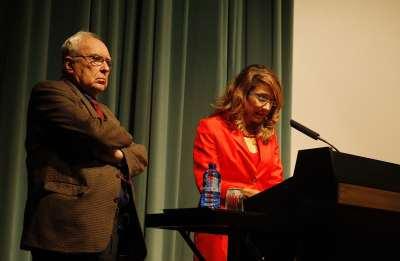 Román Gubern y Lucía Franco. Conferencia sobre El demonio y la carne - Melodrama y star-system