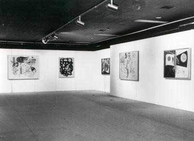 Vista parcial de la exposición Kandinsky 1923-1944