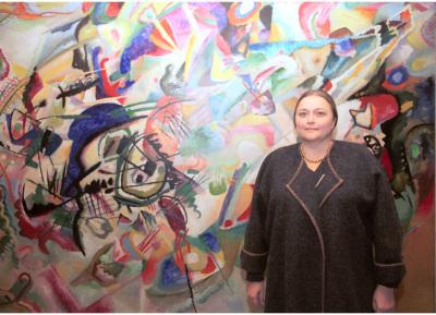 Katya Selezneva. Exposición Kandinsky: origen de la abstracción